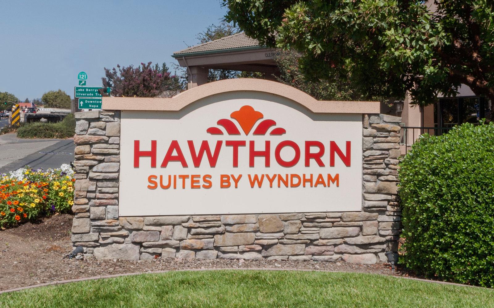 Napa Ca Hotel Hawthorn Suites By Wyndham Napa Valley
