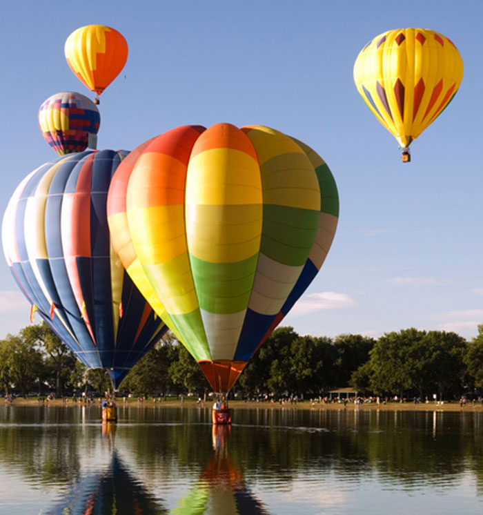 Napa Hotel Hot Air Balloon Package