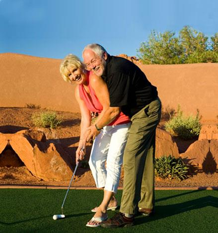 California Hotel Golf Package